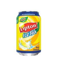 Лимонный чай Lipton 0.33 л