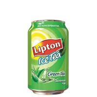 Зеленый чай Lipton 0.33 л